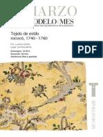 Publicación sobre telas Rococó y neoclásicas en Europa