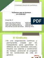 presentacion sindicatos equipo 3