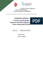 Instancia Evaluativa Optativa IEFI