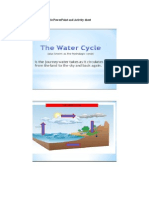 artifact 4 - the water cycle