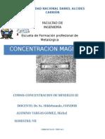 concentracion magnetetica