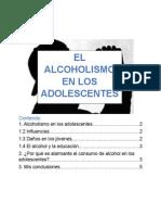 El Alcoholismo en Los Adolescentes