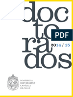 Catalogo Doctorados 2015