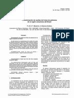 Caracterizacion de Aceites de Palmeras Del Brasil