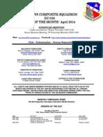 Andrews Squadron - Apr 2014