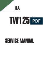 Yamaha TW 125 Service Manual - 1999
