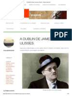 A Dublin de James Joyce Em Ulisses - Roteiros Literários
