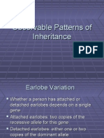 Lecture Observable Patterns OfIinheritance 2010