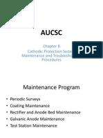 AUCSC Intermediate Chapter 8 John Otto 2012 Proteçao Catodica