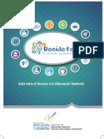 Guía de Acceso a La Educación Superior