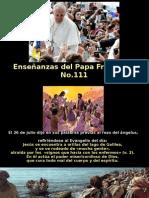 Enseñanzas Del Papa Francisco - Nº 111