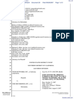 Veoh Networks, Inc. v. UMG Recordings, Inc. et al - Document No. 20