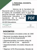 Presentacion Institucional Nomina 2013