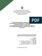 RELACIONES IMPLÍCITAS Y EXPLICITAS ENTRE LA SOCIEDAD DE LA INFORMACIÓN Y EL SISTEMA EDUCATIVO