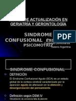 Sindrome Confusional Excitación Psicomotriz