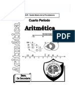 Aritmética 3ero 4bim 2009