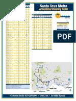 Routes in Santa Cruz