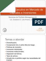 Programa Ejecutivo en Mercado de Capitales