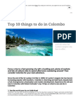 Top 10 things to do in Colombo   Skyscanner
