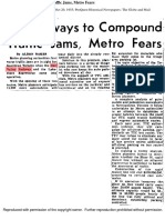 Planned Metro Expressways to compound traffic (20/10/55)