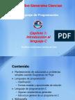 Cap 01 - Introduccion Al Lenguaje C