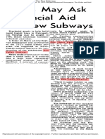 Metro chair Fred Gardiner said city will need to build transit and expressways (Dec. '55)