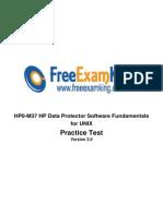 Data Protector Hp0-m37