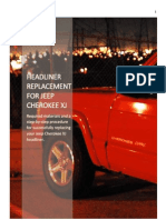 Cherokee Headliner Instructions
