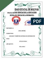 Analisis Del Sistema de Matriculacion Estudiantil