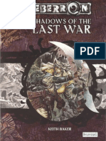 DnD-Eberron - Adventure - Shadows of the Last War