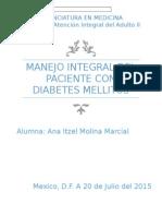Manejo Integral Del Paciente Con Diabetes Mellitus