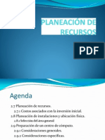 Plan de Recursos informaticos