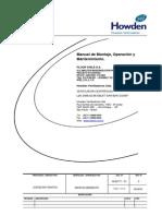 Manuel de Operacion y Montaje de Ventiladores Howden