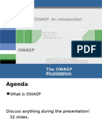 Introduction to OWASP