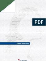 Rapport 2009 du médiateur de la République