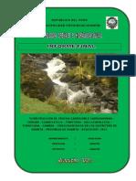 Estudio Hidrologia Hidrahulica Huanta