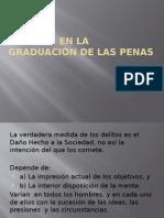 Errores en La Graduación de Las Penas