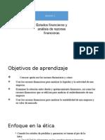 Estados Financieros y Analisis de Razones Financieras