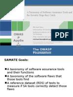 Tools Taxonomy