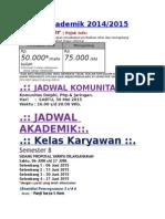 Project App Jadwal