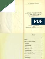 La Crisis de la Prsision y los Sustitutivos de la Prision-luis Rodriguez Manzanera