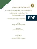 Informe  TECNIO Toma de Fondo DE UN RIO TOMA CONVENCIONAL