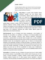 Diccionario de Términos Sexuales- Letra G