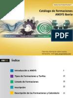 Catalogo de Formaciones ANSYS 2013 - VF