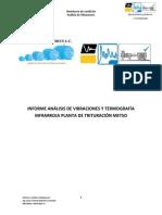 Informe Analisis de Vibraciones y Termografia Infrarroja Planta de Trituracion Metso