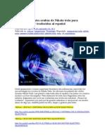 Todas las patentes ocultas de Nikola tesla para descargar y traducidas al.doc