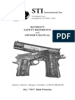 Firearms - ! - Manual - STI 1911 Pistol