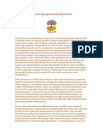 placenta encapsulation information