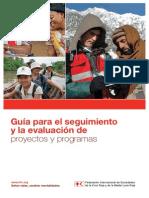 Guía para el seguimiento y la evaluación de proyectos y programas