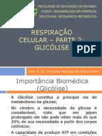 Aula 4 - Respiracao Celular - Parte 2 Glicólise